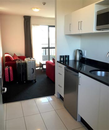 アパートメントタイプのホテル ニュージーランド
