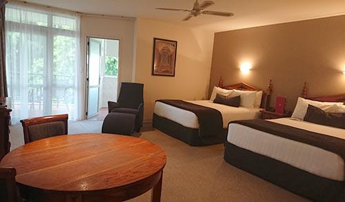 ロトルアのホテル