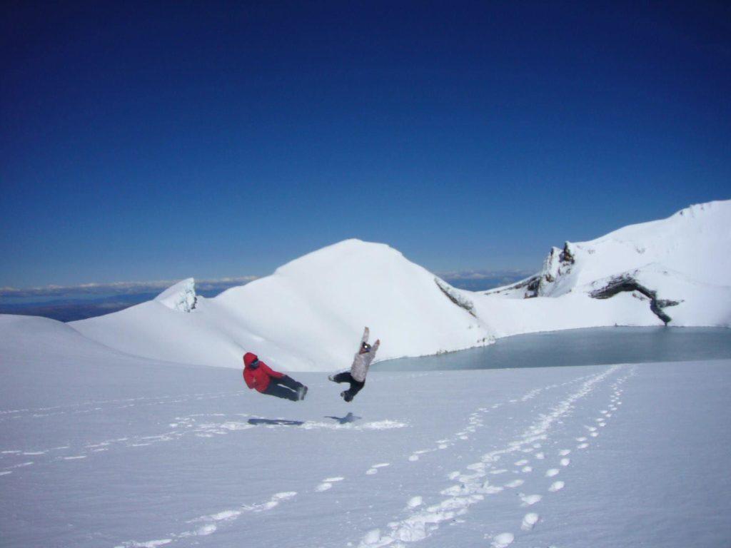 ニュージーランドのスキー場で仕事