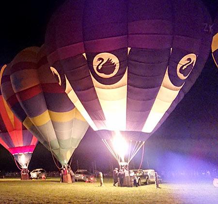 熱気球ニュージーランド
