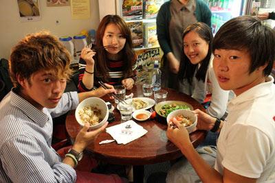 クライストチャーチの日本食