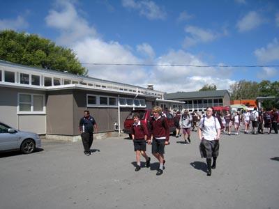 2学期からニュージーランドに高校留学