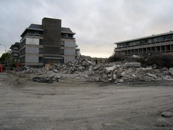 取り壊されたコプソーンホテル