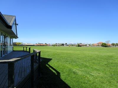 ニュージーランドの校庭
