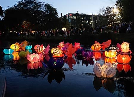 ニュージーランド 中国のお祭り