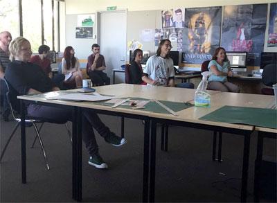 プレゼン 専門学校の授業 ニュージーランド