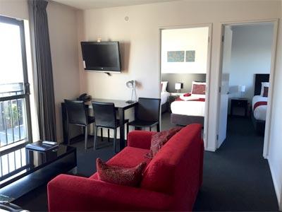 キッチン、風呂付のホテル ニュージーランド