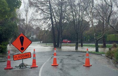 洪水 ニュージーランド