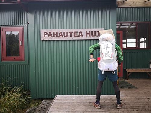 ニュージーランドの山小屋