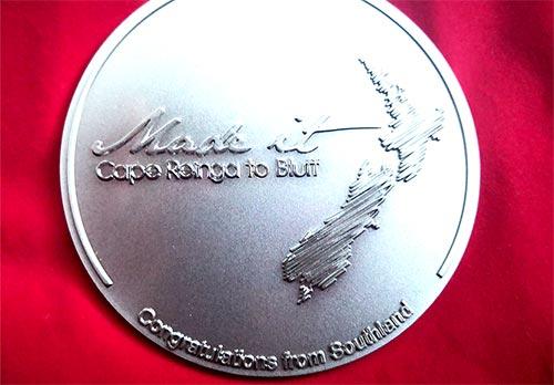 テアラロアゴールのメダル
