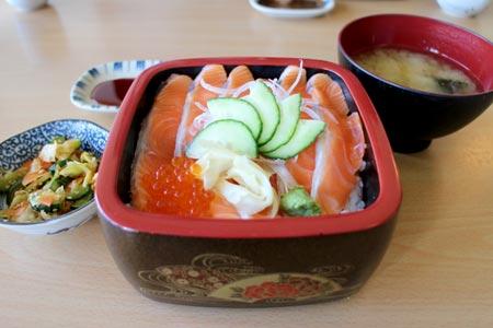 テカポ サーモン丼