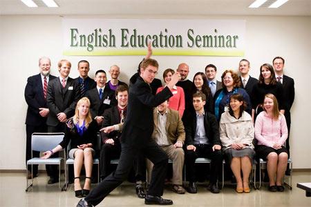 英語を教える