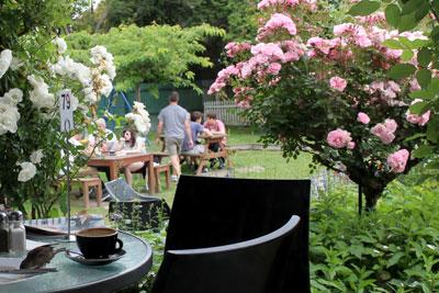 ニュージーランドのカフェ