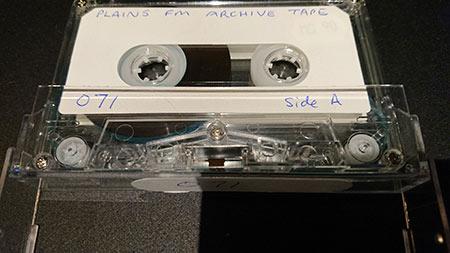 カセットテープを英語で