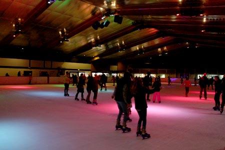 クライストチャーチのスケート場