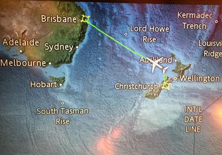 ニュージーランドからオーストラリア