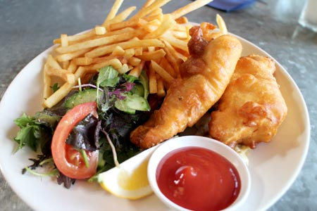 フィッシュ&チップス ニュージーランド