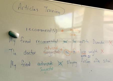 ニュージーランドの語学学校