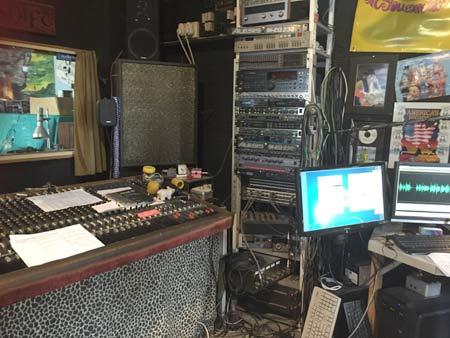 クライストチャーチのスタジオ