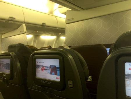 カンタス航空でオーストラリアへ