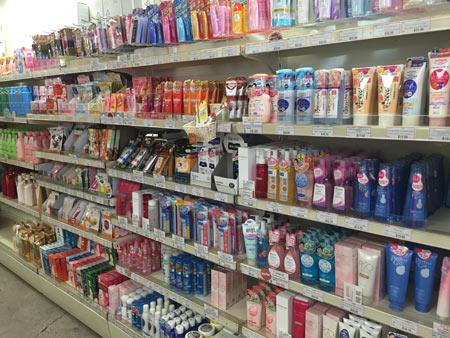 日本の化粧品 オークランド