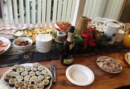 ニュージーランドのファミリークリスマス