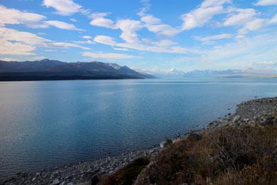 プカキ湖 ニュージーランド