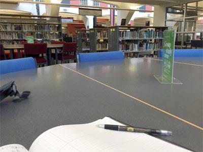 カンタベリー大学の図書館