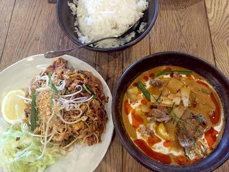 クライストチャーチ タイ料理