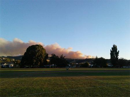 山火事 ニュージーランド