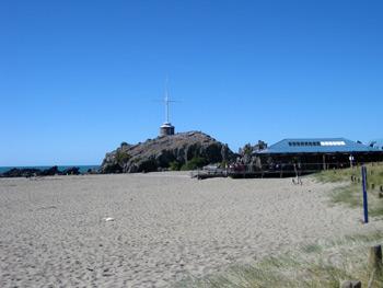 Sumner beachとCave rock