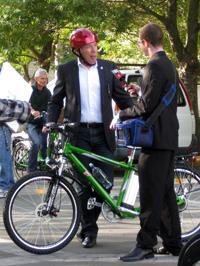 クライストチャーチ市長のボブ・パーカー