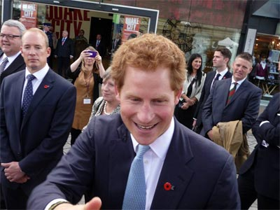 イギリス王室のヘンリー王子がク...