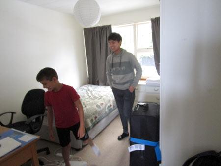 ホームステイ ニュージーランド留学
