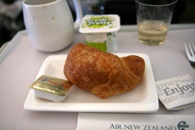 ニュージーランド航空 プレミアムエコノミー 機内食