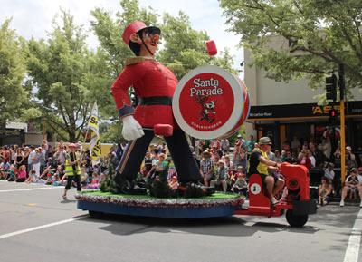 Santa Parade Christchurch