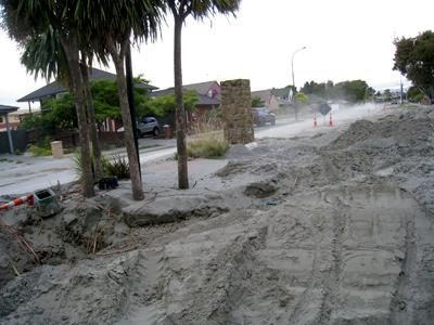 ニュージーランド 地震 パークランズ