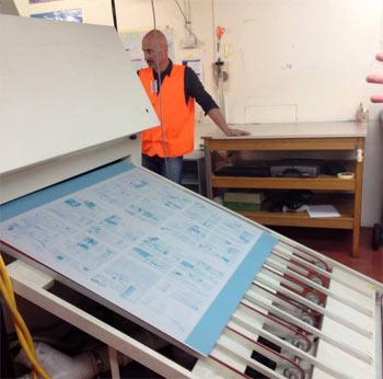 クライストチャーチの印刷工場