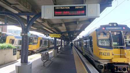 ニュージーランド 電車の乗り方