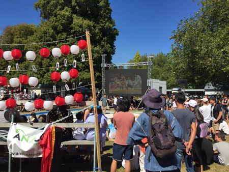 ニュージーランド 日本のお祭り