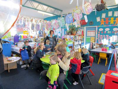 メリンスクールのYear1|クライストチャーチの小学校