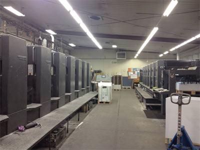 ニュージーランドの印刷工場見学