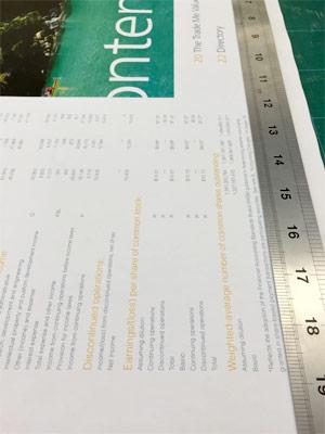 ニュージーランド 決算資料