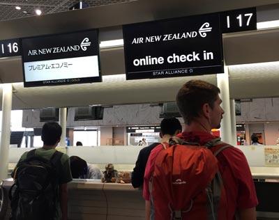 羽田便 ニュージーランド航空