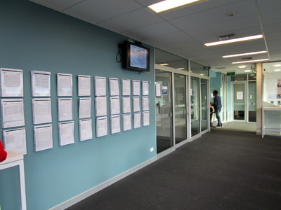 クライストチャーチ ニュージーランド移民局