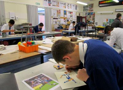 アート ニュージーランド高校留学