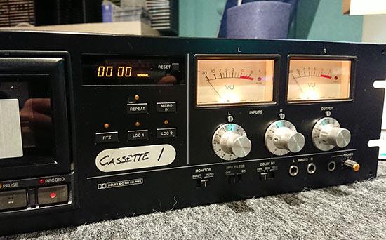 カセットテープをデジタル化