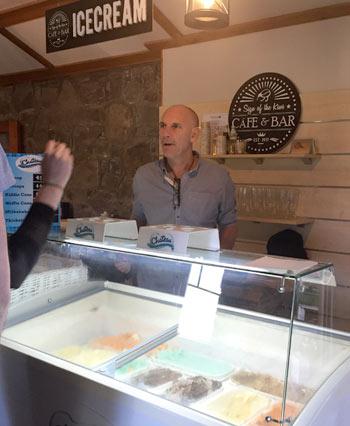 ニュージーランドのアイスクリーム
