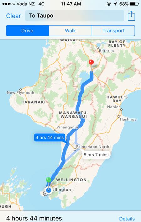 ドライブ旅行 ニュージーランド