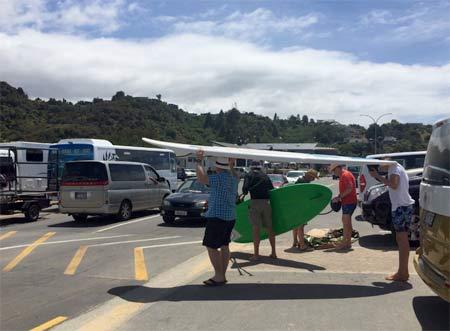 サーフィン ニュージーランド